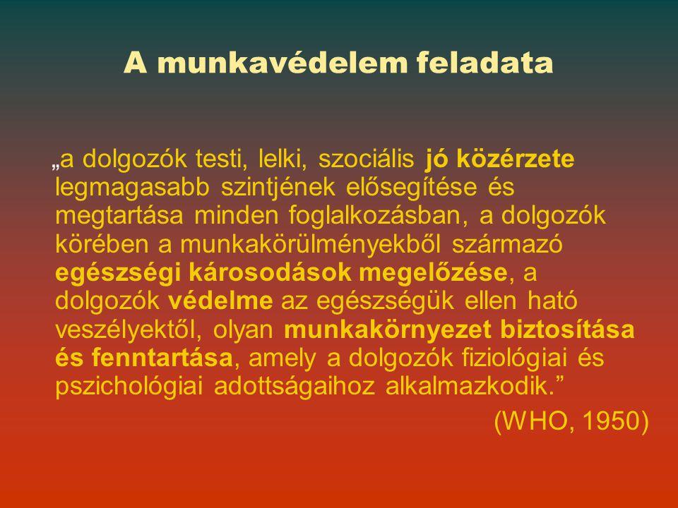 A munkavédelmi hatóság 2010 Ellenőrzések száma összesen 38 281 Közérdekű bejelentés 2 570 Panaszvizsgálat 668 Balesetvizsgálat 1 898 Foglalkozási megbetegedés 420 Fokozott expozíció 203 Ellenőrzött munkáltatók száma 22 169 Döntések száma összesen 56 939