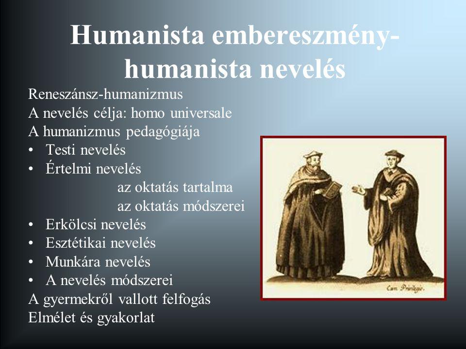 Humanista nevelés Magyarországon