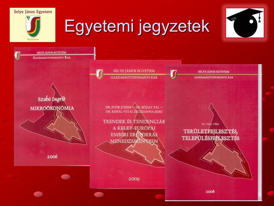 Egyetemi jegyzetek