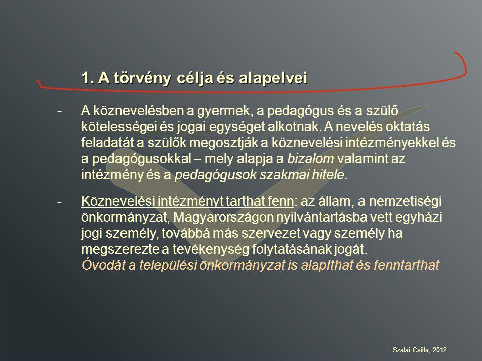 Köszönöm a figyelmet, jó munkát a törvény tanulmányozásához! Szalai Csilla, 2012.