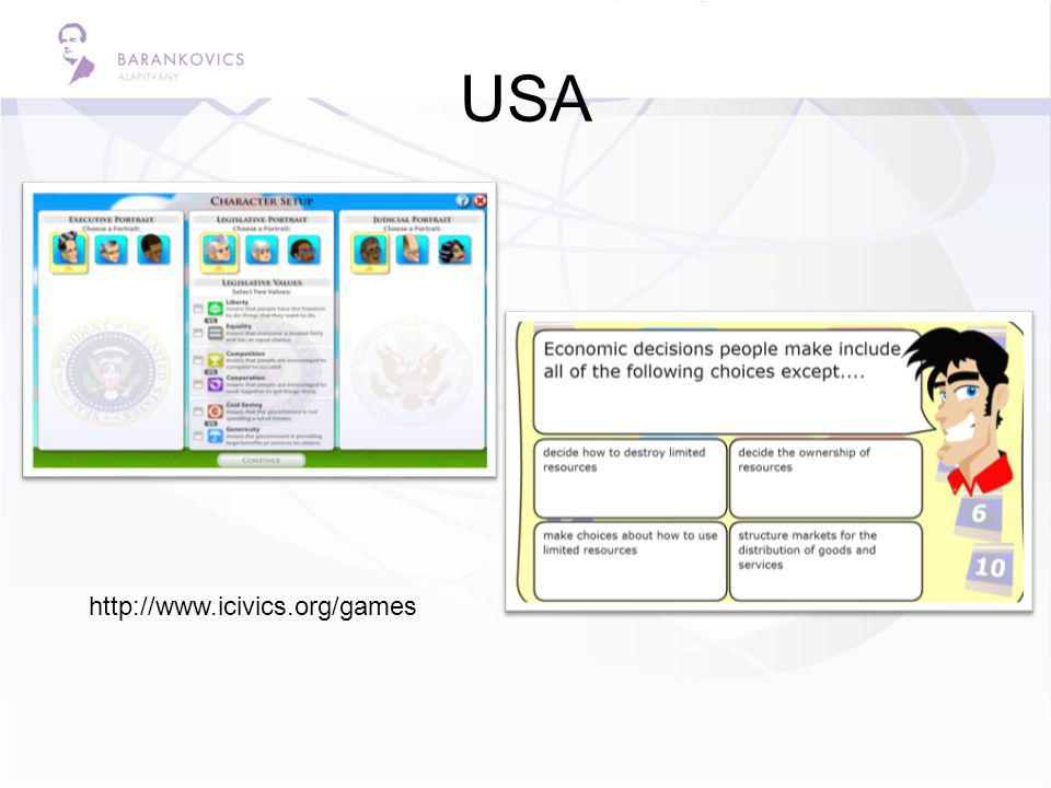 USA http://www.icivics.org/games