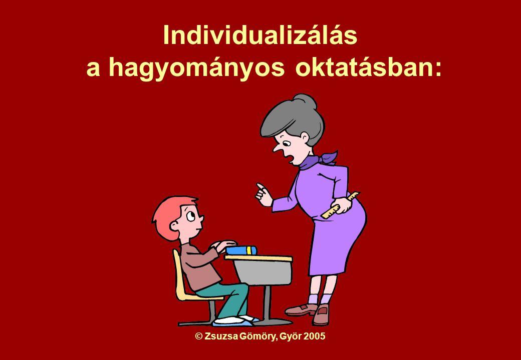 © Zsuzsa Gömöry, Györ 2005 Az alapelvek a Daltonoktatás során megvalósítandó nevelési célok.