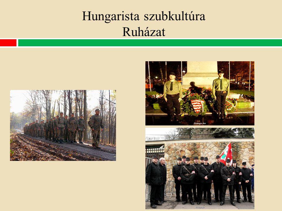 Hungarista szubkultúra Ruházat