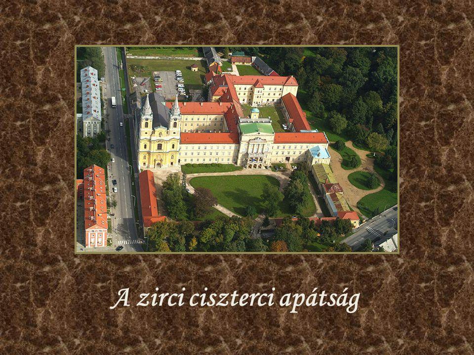 A zirci ciszterci apátság