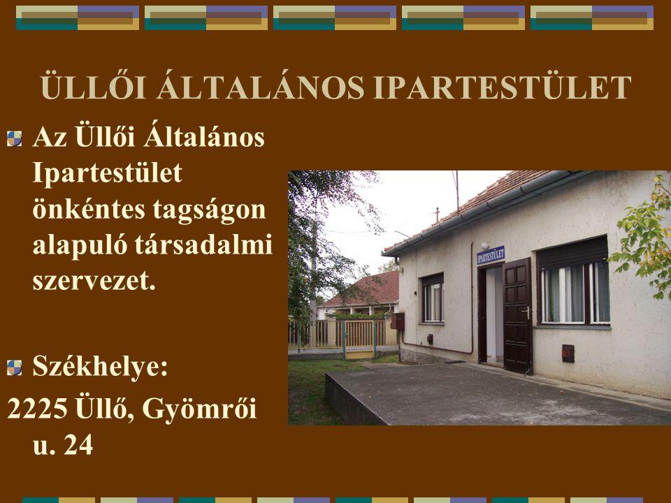 ÜLLŐI ÁLTALÁNOS IPARTESTÜLET 2006. ÉVI I.CSÜLÖKFESZTIVÁL