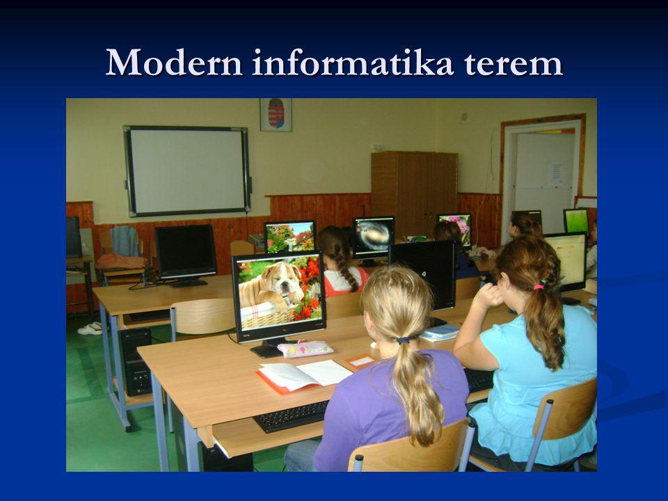 Modern informatika terem