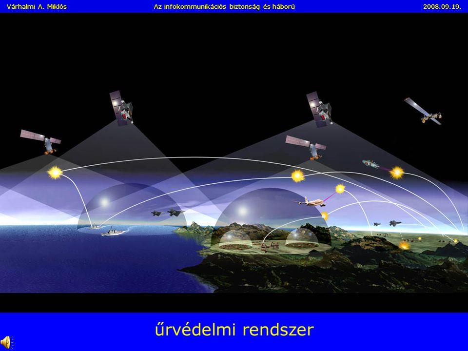 Információs – Hálózati - Vezetési Hadviselés (halott nélküli háború) I. A hálózatközpontú hadviselés legfontosabb eleme az információk megszerzésének
