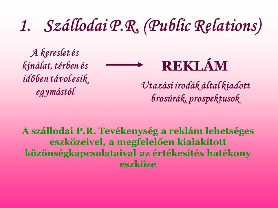 1.Szállodai P.R.