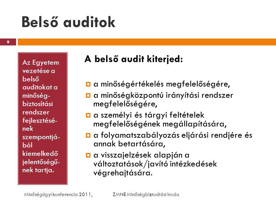 AZ EMIÉR ELEMEI Az intézmény- nyel és szolgáltatá- saival kapcsolatos felmérések Elemei a hallgatókkal kapcsolatban:  Hallgatói véleményezés az intézményre vonatkozóan (rendszeres);  Hallgatói véleményezés az informatikai ellátottságról (rendszeres);  Hallgatói véleményezés a tanulmányi ügyek intézéséről (rendszeres);  Gólya kérdőív (tervezett);  DPR kérdőívek (fejlesztés alatt);  Kollégium (tervezett);  Könyvtár (rendszeres);  Doktoranduszok véleményfelmérő kérdőíve (rendszeres).