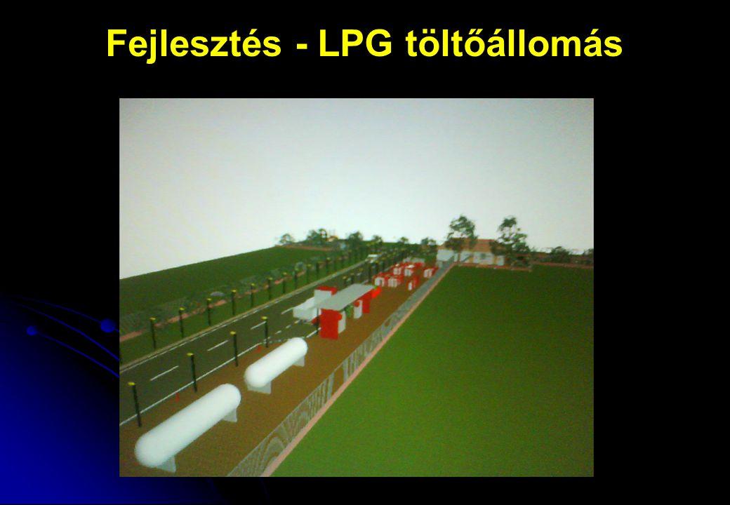 Fejlesztés – LPG töltőállomás