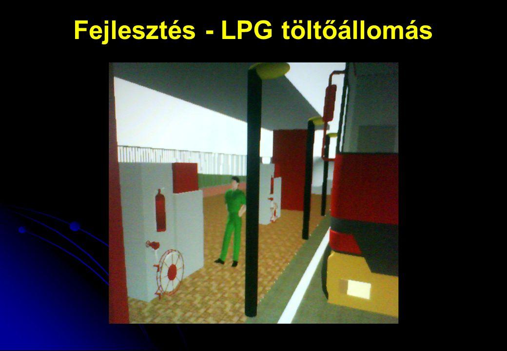 Fejlesztés - LPG töltőállomás