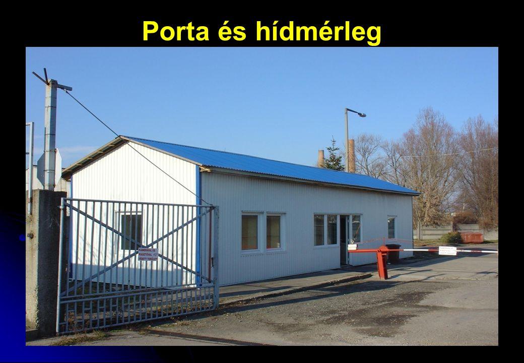 Porta és hídmérleg