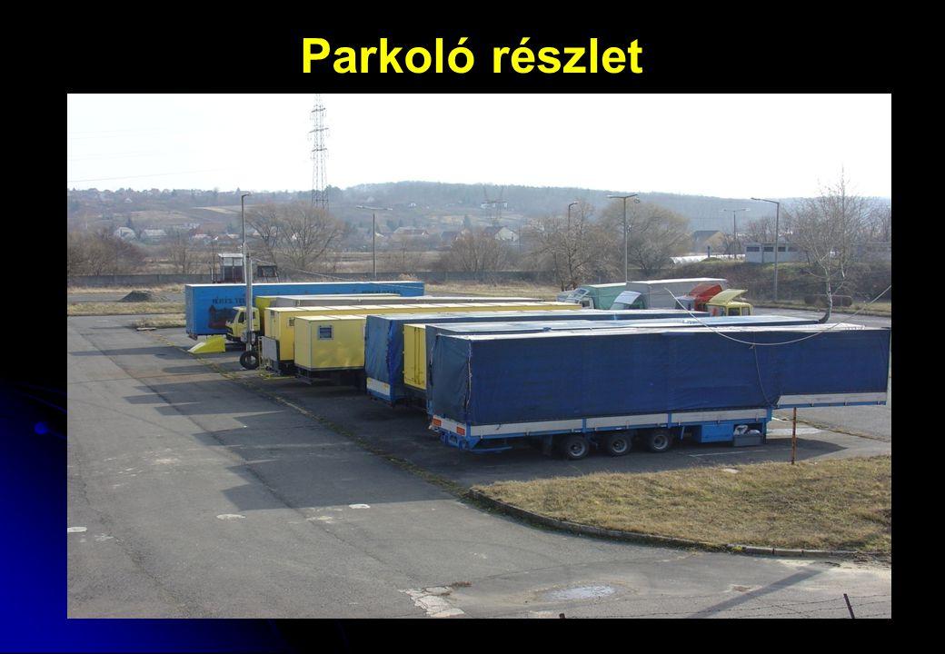 Parkoló részlet