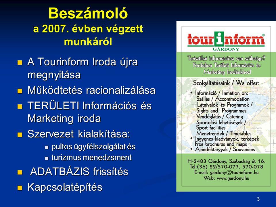 3 Beszámoló a 2007.