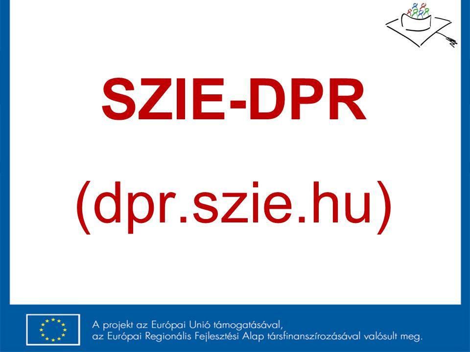 SZIE-DPR (dpr.szie.hu)