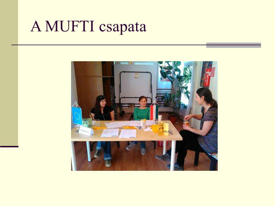 A MUFTI csapata