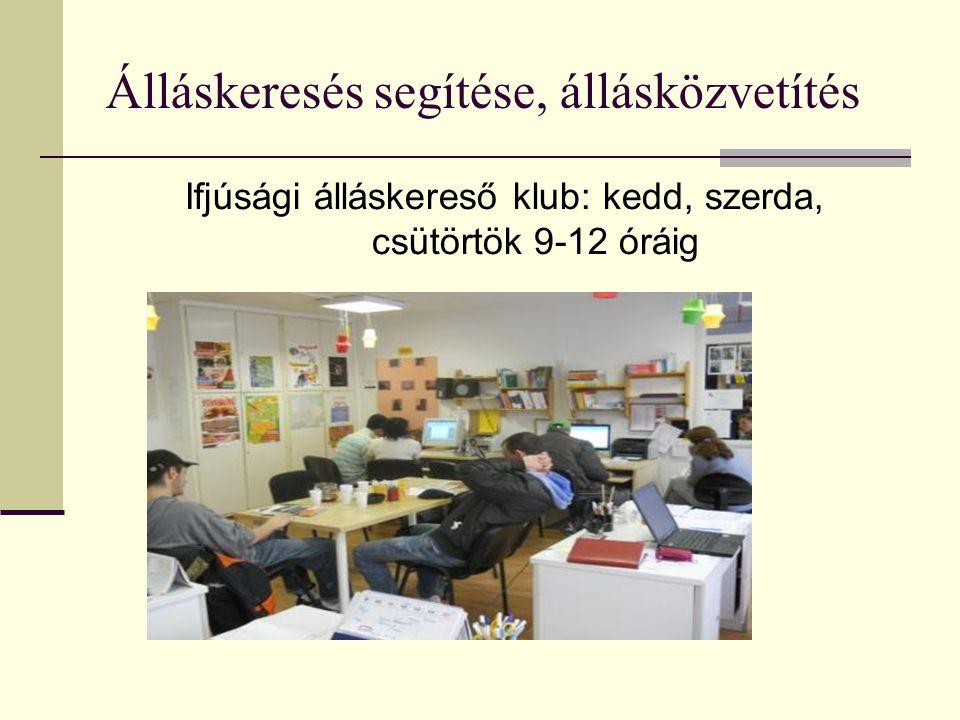 Kerületi Állásbörze Az állásbörzén 267 fő vett részt 24 munkaadó, cég, szervezet