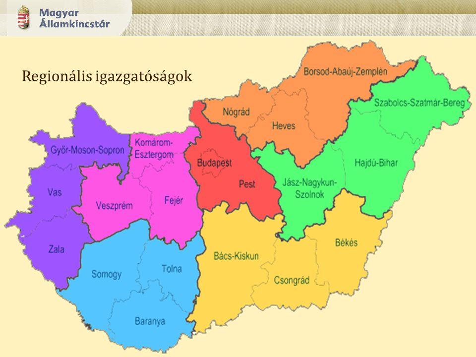 10 Regionális igazgatóságok