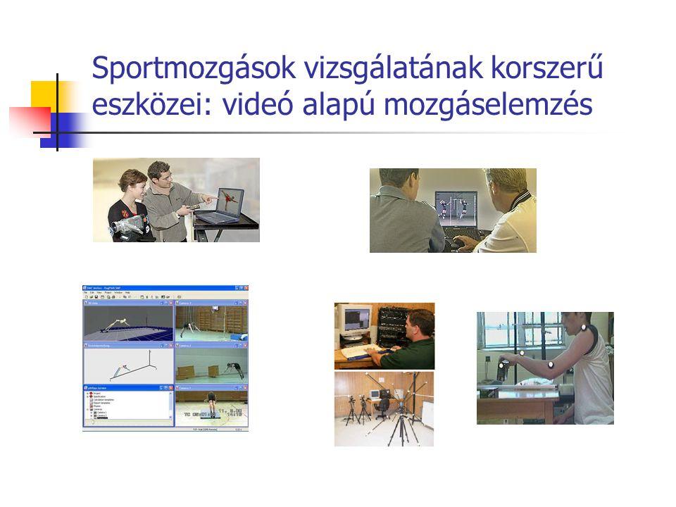 Sportmozgások vizsgálatának korszerű eszközei: videó alapú mozgáselemzés