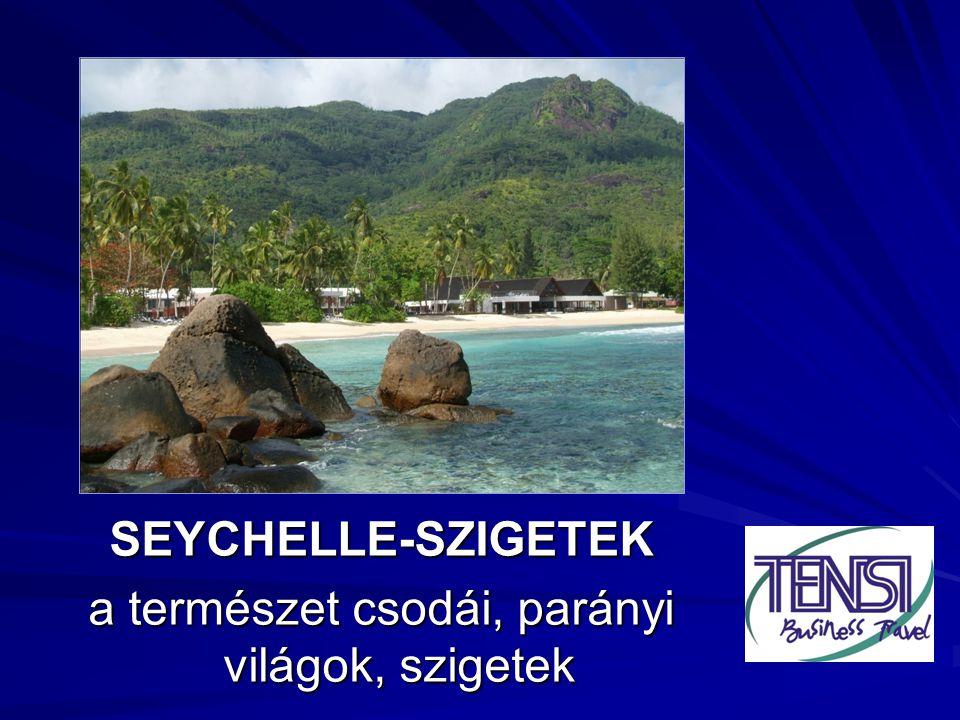 .. SEYCHELLE-SZIGETEK a természet csodái, parányi világok, szigetek