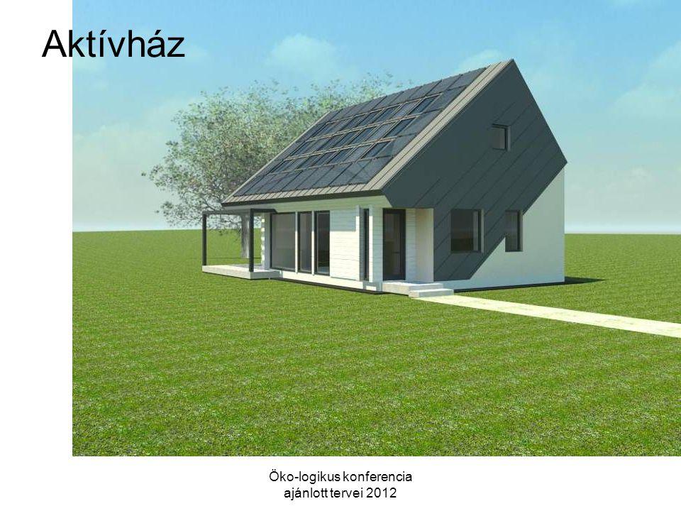 Aktívház Öko-logikus konferencia ajánlott tervei 2012