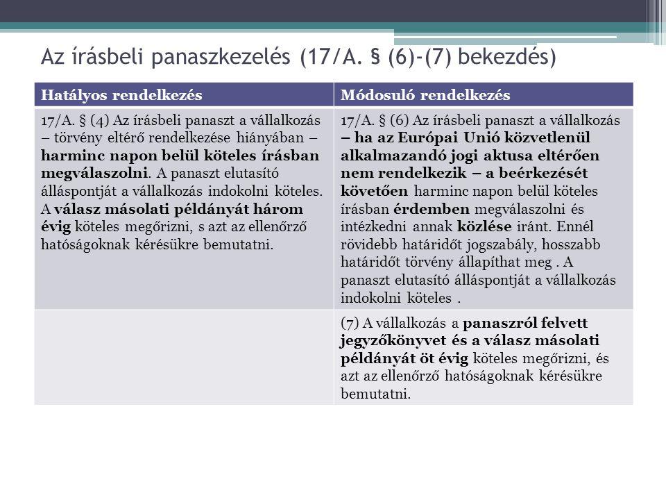 A közérdekű igényérvényesítés (38.§) és a közérdekű kereset (39.