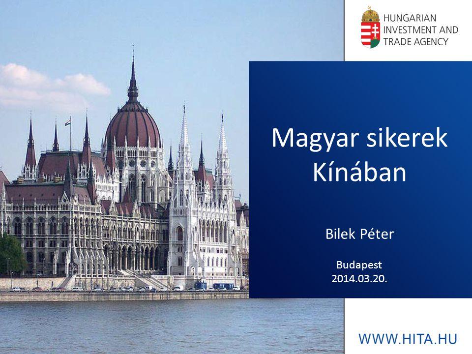 Agenda I.A Nemzeti Külgazdasági Hivatal II. Kína és Magyarország közti gazdasági kapcsolatok III.