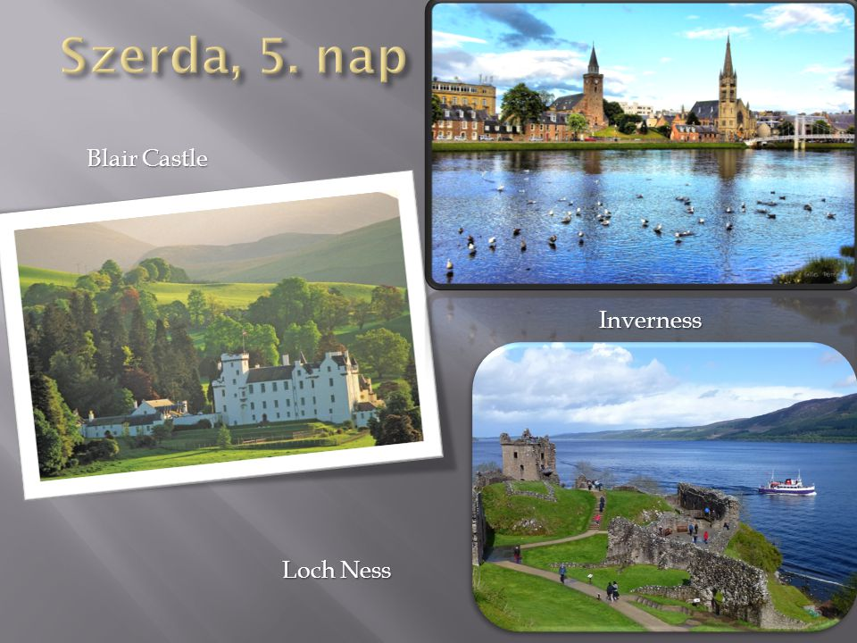 Blair Castle Inverness Loch Ness