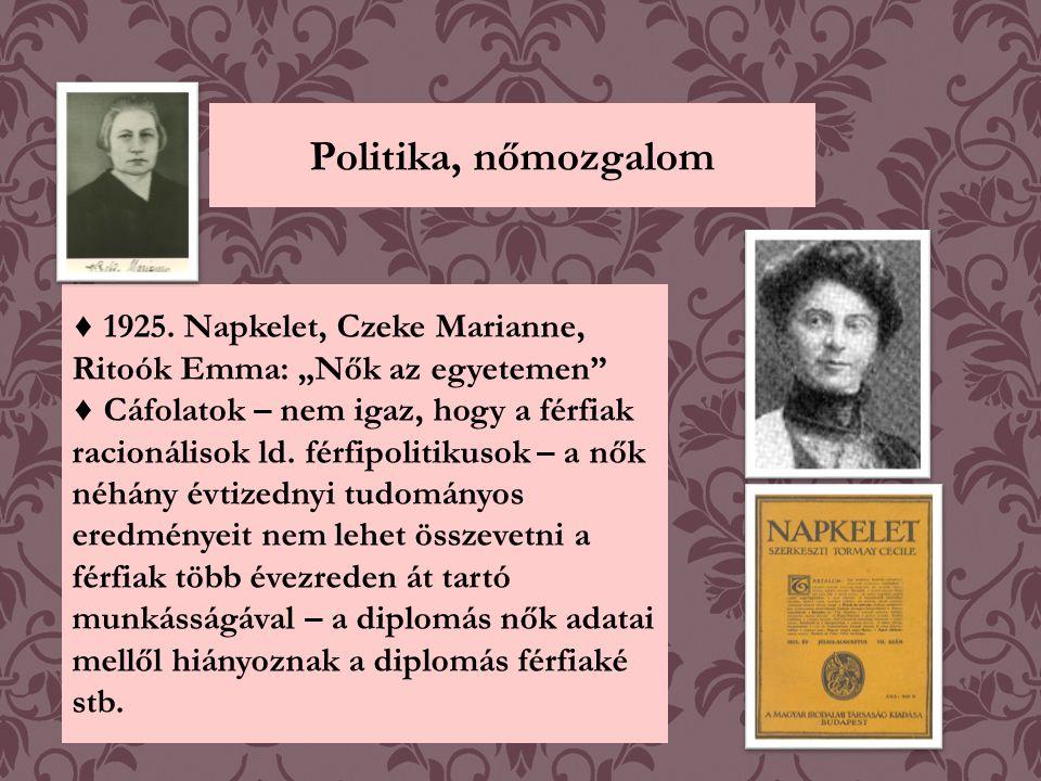 Dr.Czeke Marianne (1873-1942) ♦ Elismert hazai irodalomtörténész, könyvtáros.