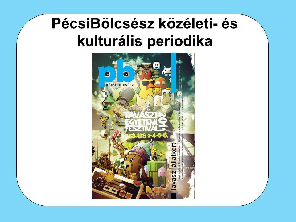 PécsiBölcsész közéleti- és kulturális periodika