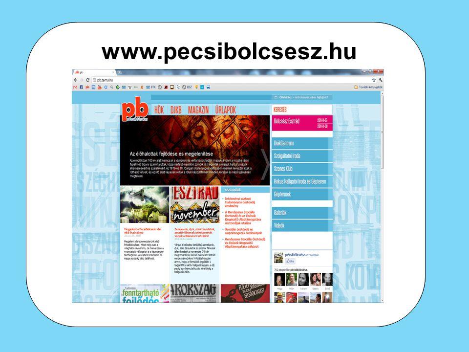 www.pecsibolcsesz.hu