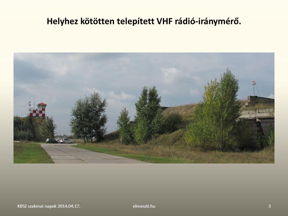 VHF iránymérő – működési elve és egységei KBSZ szakmai napok 2014.04.17.elmeszti.hu4