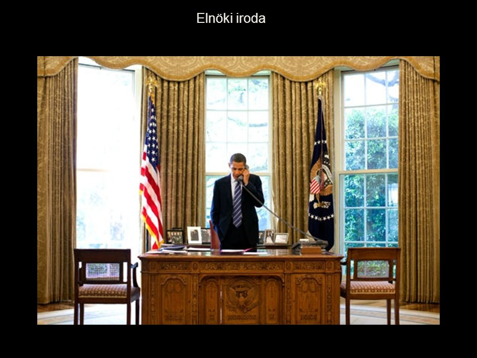 Elnöki iroda előtere