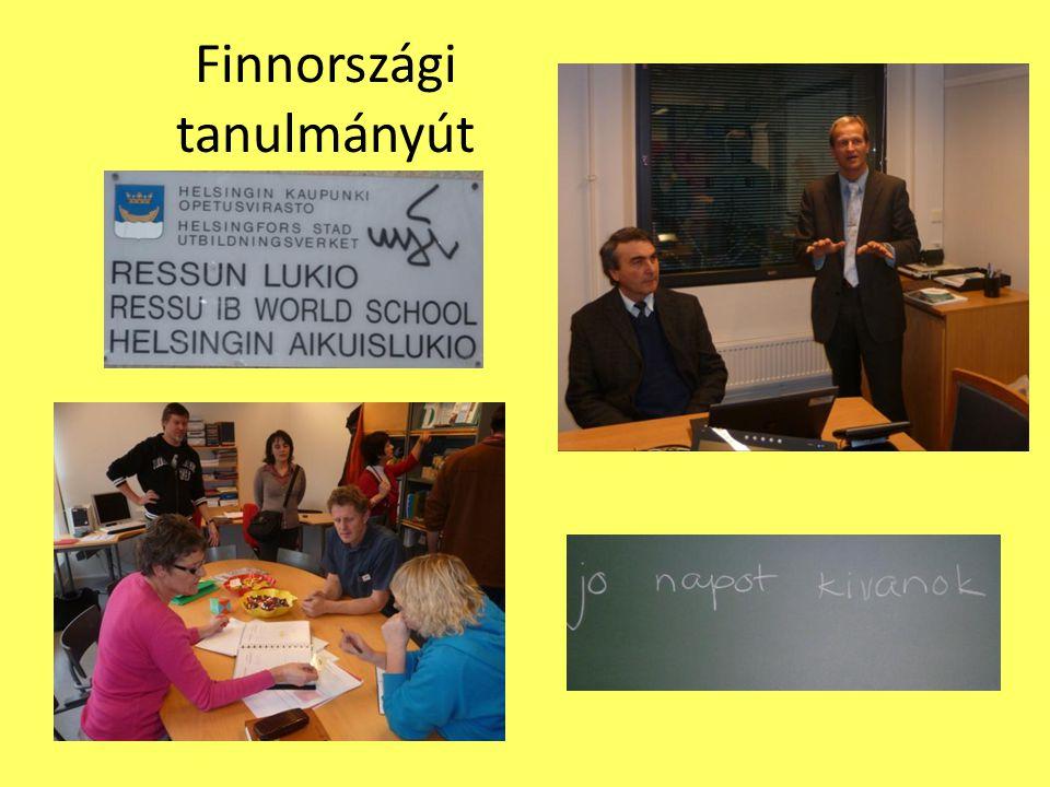 Finnországi tanulmányút
