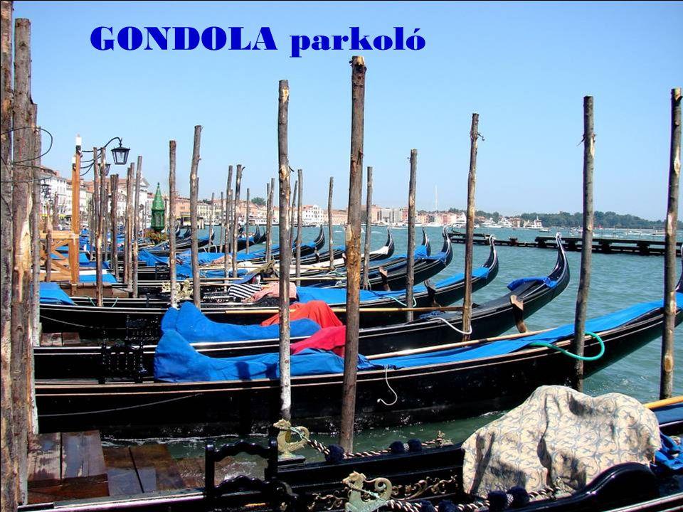 GONDOLA parkoló
