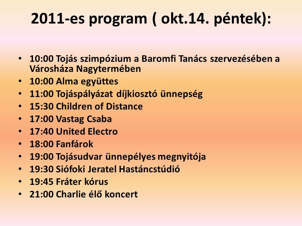2011-es program ( okt.14.
