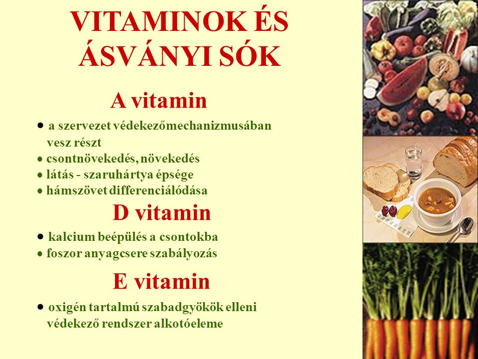 AZ EGÉSZSÉGES TÁPLÁLKOZÁS gabonafélék 6-11 egység zöldségfélék 3-5 egység gyümölcsfélék 2-4 egység tej, hús, 2-3 egység