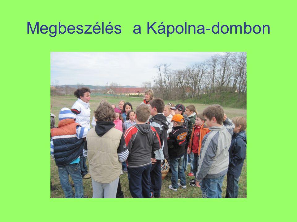 Megbeszélés a Kápolna-dombon