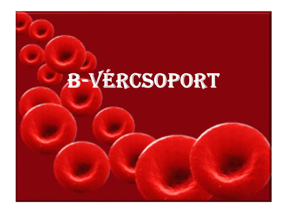 B-vércsoport
