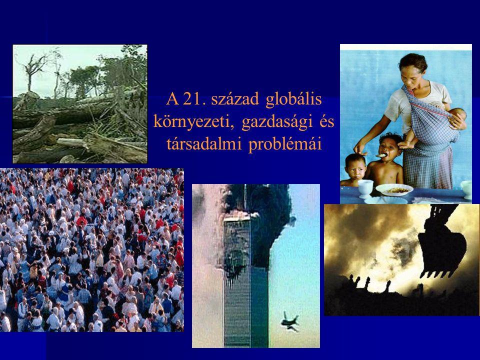A 21. század globális környezeti, gazdasági és társadalmi problémái