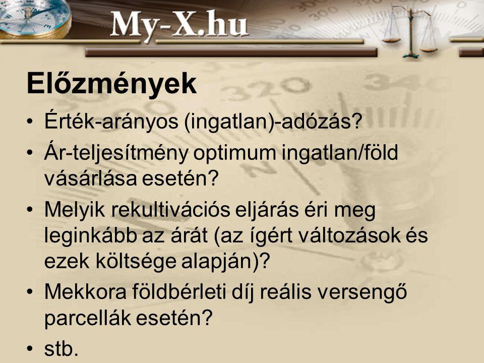 INNOCSEKK 156/2006 Esettanulmány Objektumok: statisztikai régiók Attribútumok: hozamok, ill.