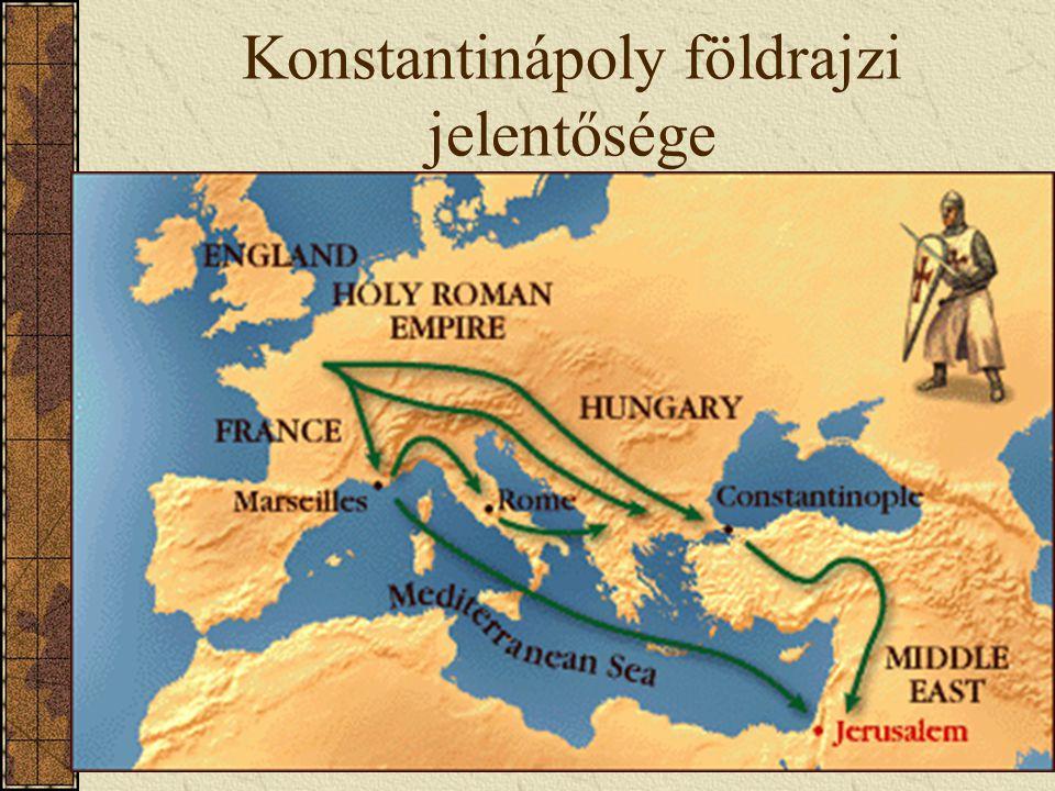 Konstantinápoly földrajzi jelentősége
