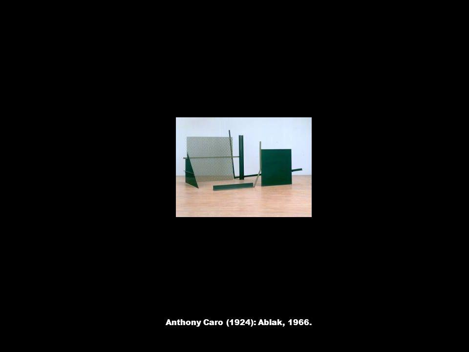 Anthony Caro (1924): Ablak, 1966.