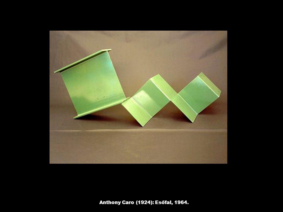 Anthony Caro (1924): Esőfal, 1964.