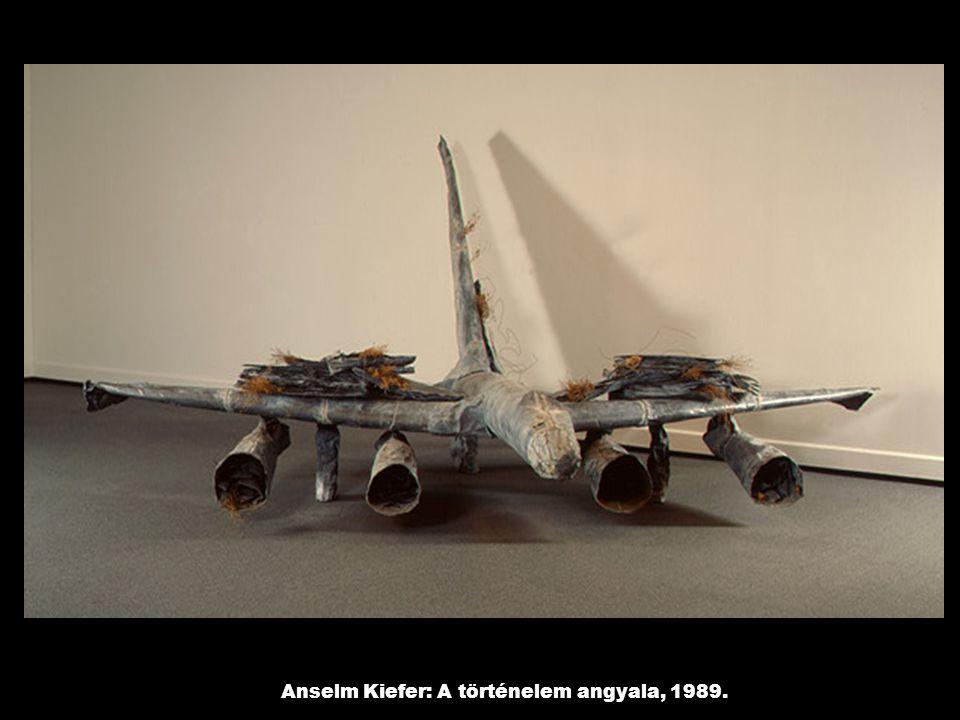 Anselm Kiefer: A történelem angyala, 1989.