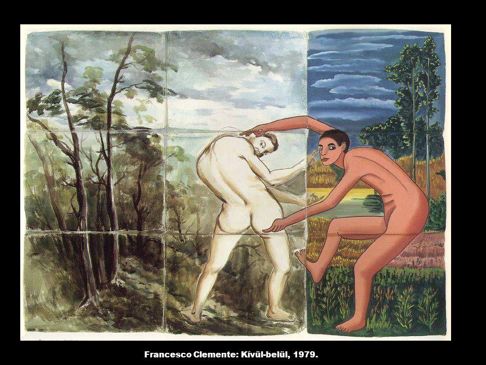 Francesco Clemente: Kívül-belül, 1979.