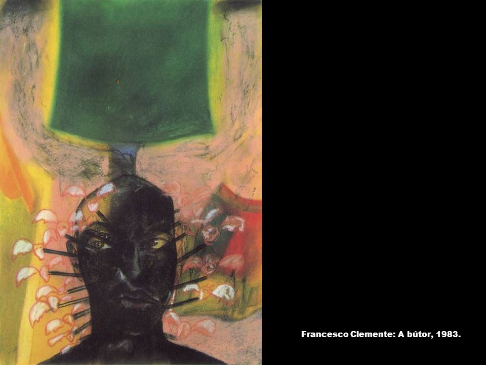 Francesco Clemente: A bútor, 1983.