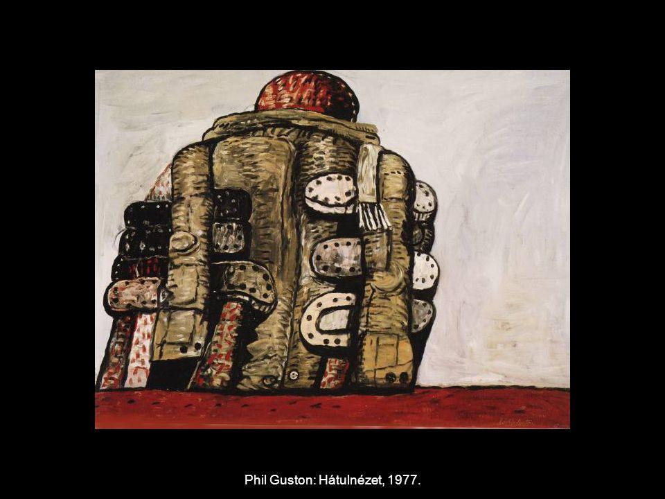 Phil Guston: Hátulnézet, 1977.