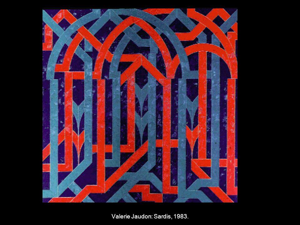 Valerie Jaudon: Sardis, 1983.