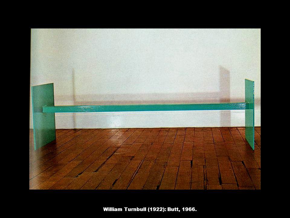 William Turnbull (1922): Butt, 1966.